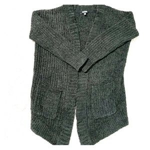 NWOT Express Soft Chunky Knit Cardigan
